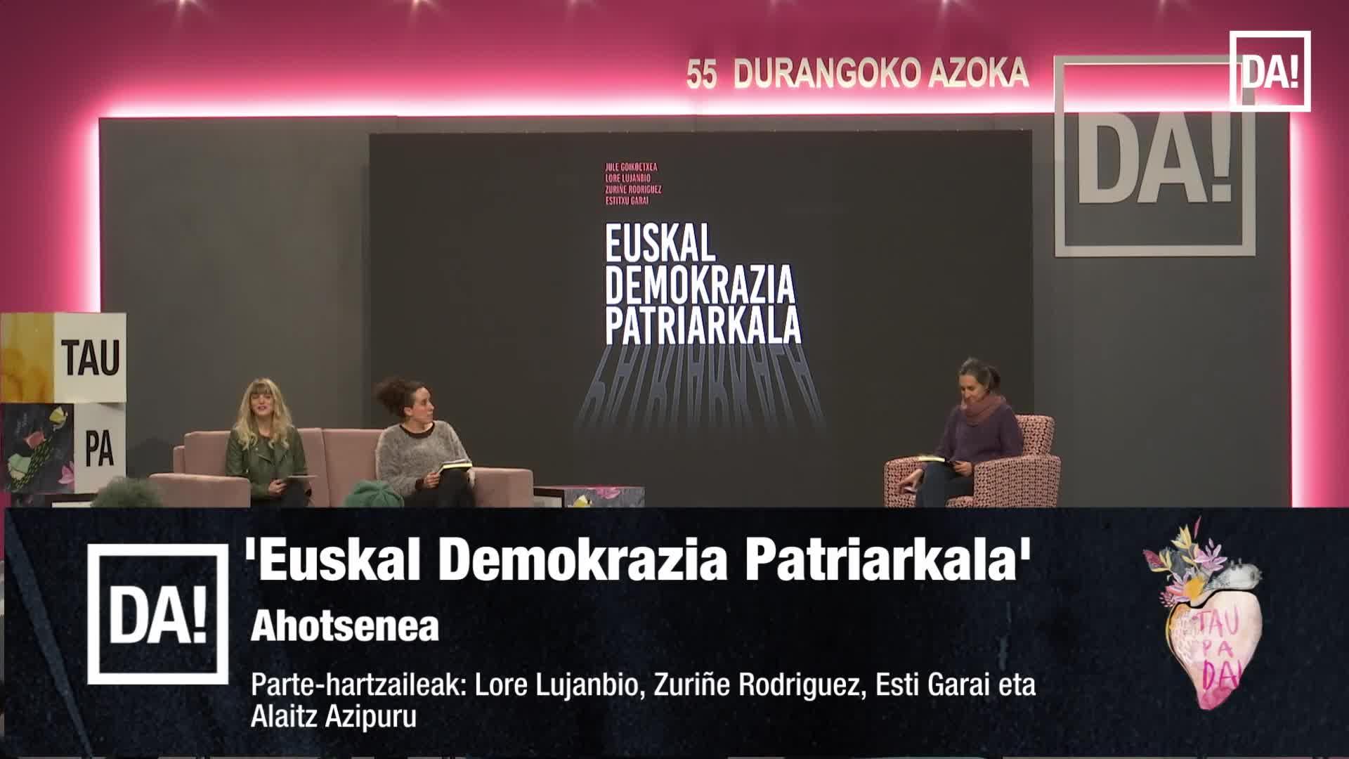 Lore Lujanbio, Zuriñe Rodriguez, Esti Garai